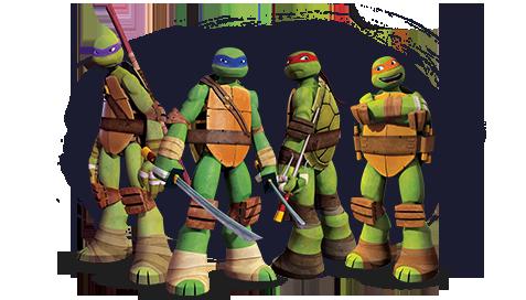 Intek Juguetes - Tortugas Ninja